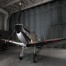 IWM Duxford In the Cockpit - Spitfire N3200